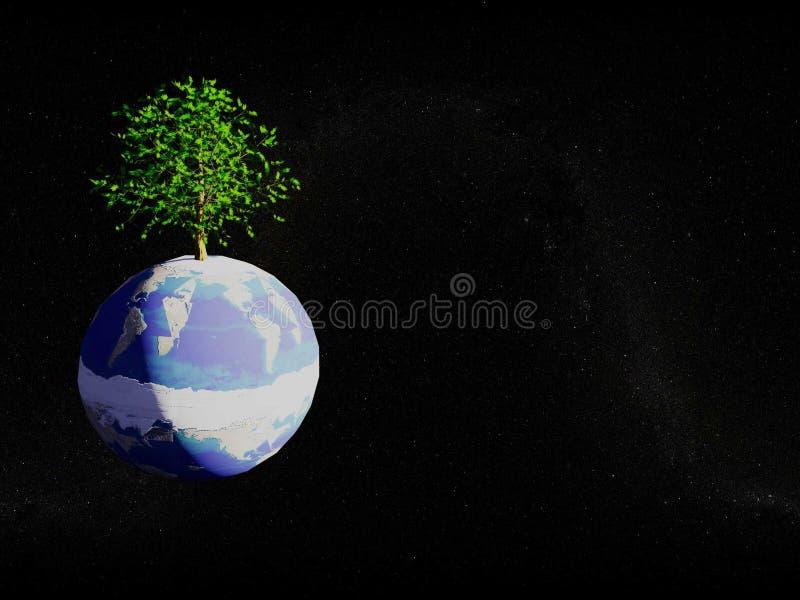环境行星 免版税库存图片