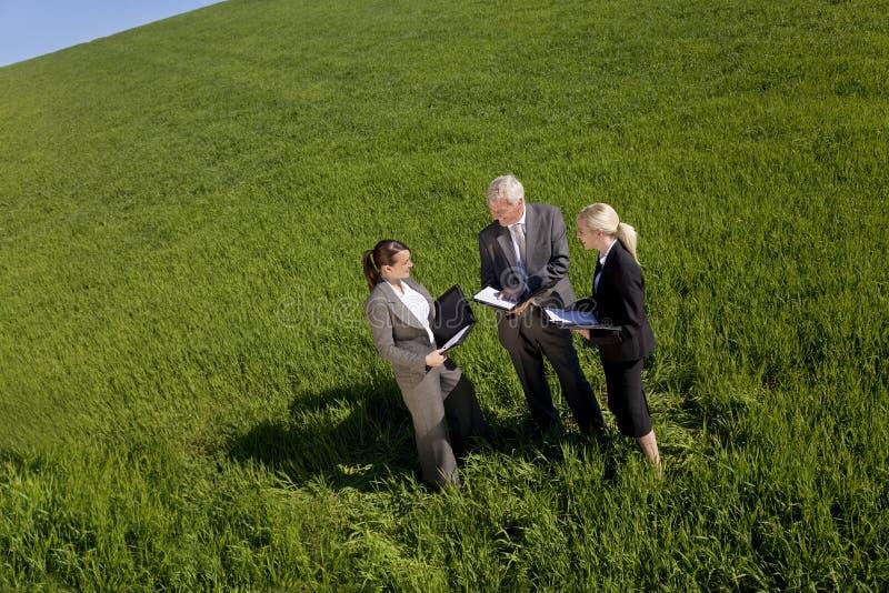 环境计划小组 免版税库存照片