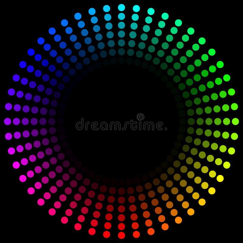 环形光谱 向量例证