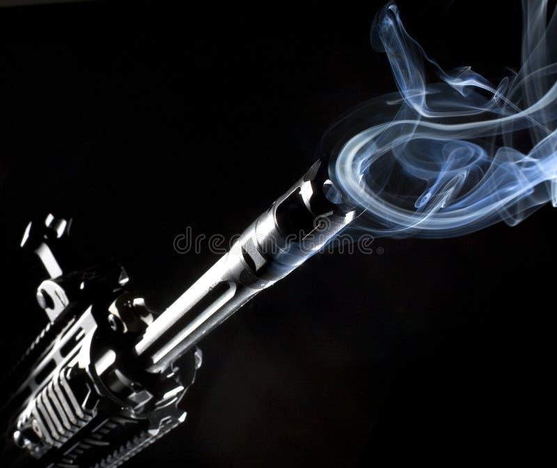 环形烟 免版税库存照片