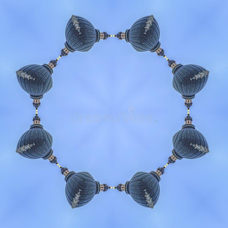 环形轧材用建筑学做了在犹他 皇族释放例证