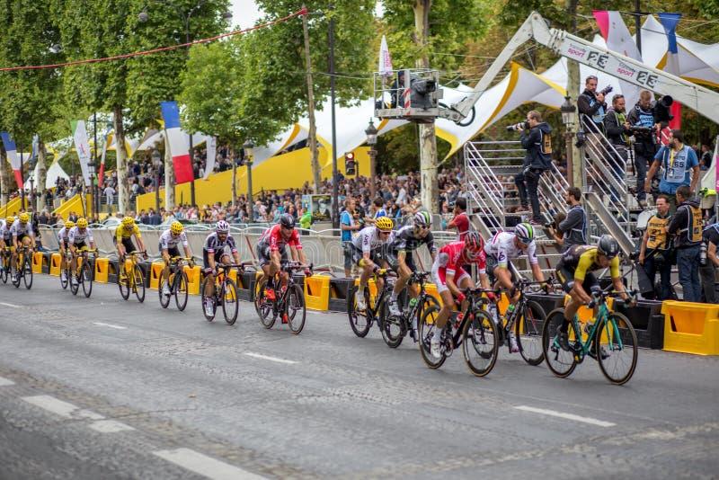 环法自行车赛2017年爱丽舍 库存图片