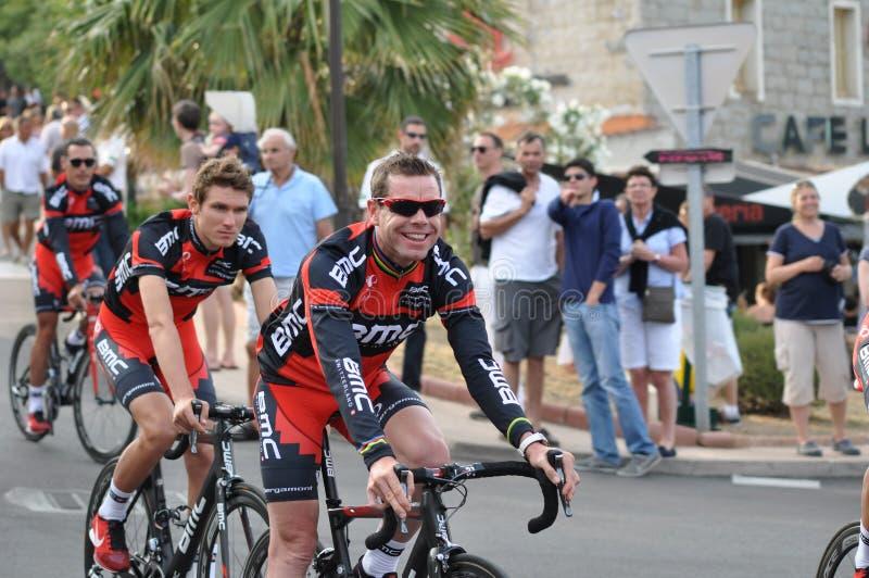 环法自行车赛2013年,卡德尔・埃文斯 库存图片