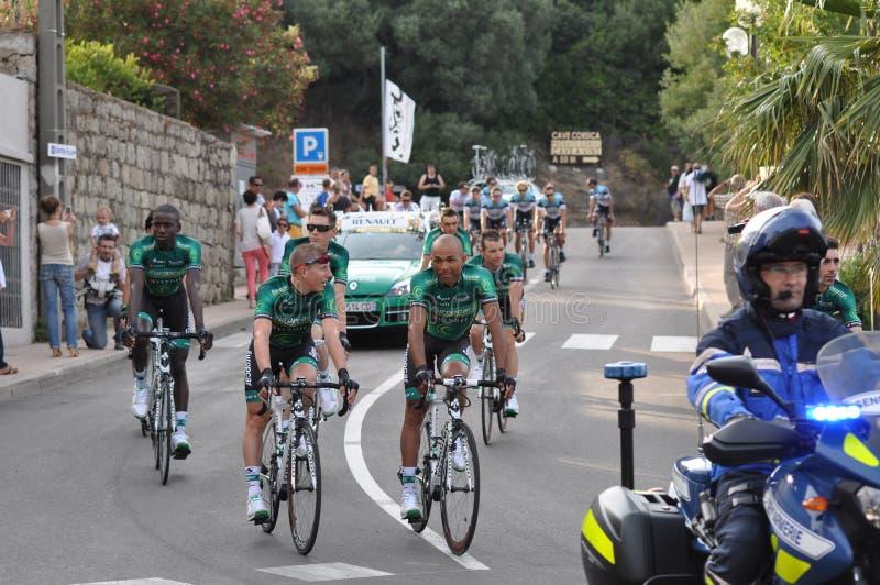 环法自行车赛2013年, 6月27日 库存照片