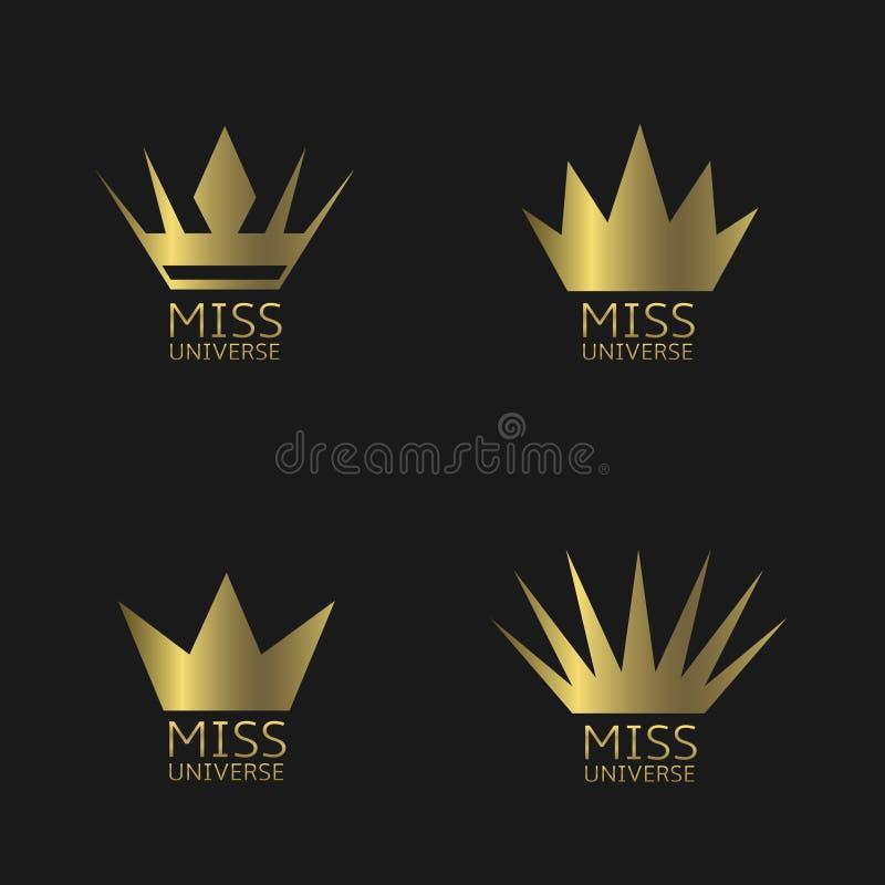 环球小姐标志 皇族释放例证
