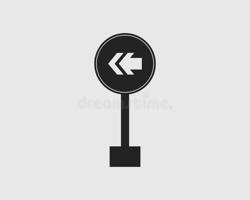 环绕在左路牌象的一种方式 皇族释放例证