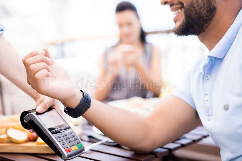 现代付款 免版税库存图片