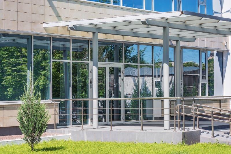 现代企业市政厅大厦 免版税库存图片