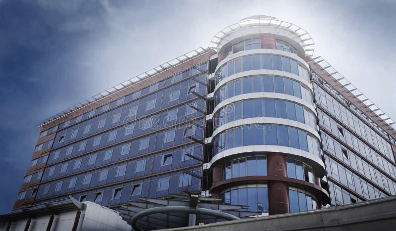 现代企业的旅馆 免版税图库摄影