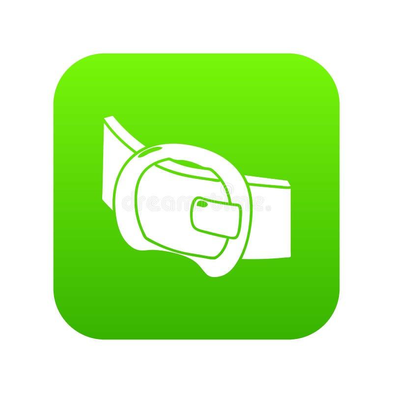 现代传送带象绿色传染媒介 皇族释放例证