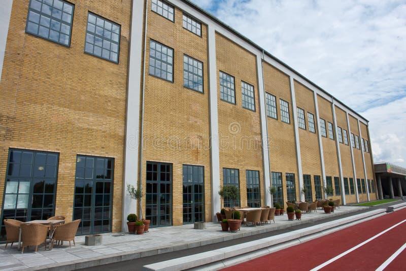 现代体育运动重新创建大厅 免版税库存图片