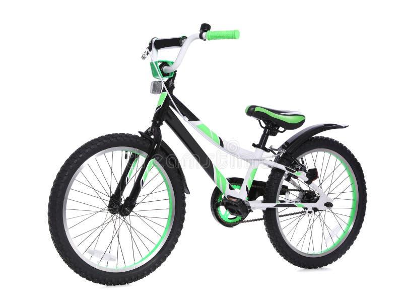 现代儿童自行车 免版税库存图片