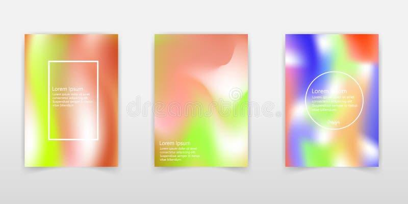 现代全息照相的箔背景 非常美好的彩虹纹理 美妙的不可思议的背景 幻想五颜六色的卡片 呈虹彩 皇族释放例证