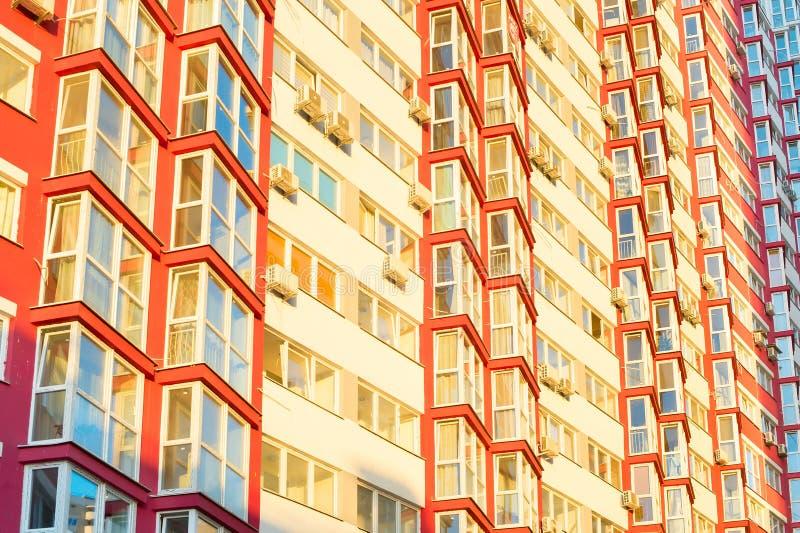 现代公寓基辅,乌克兰 库存图片