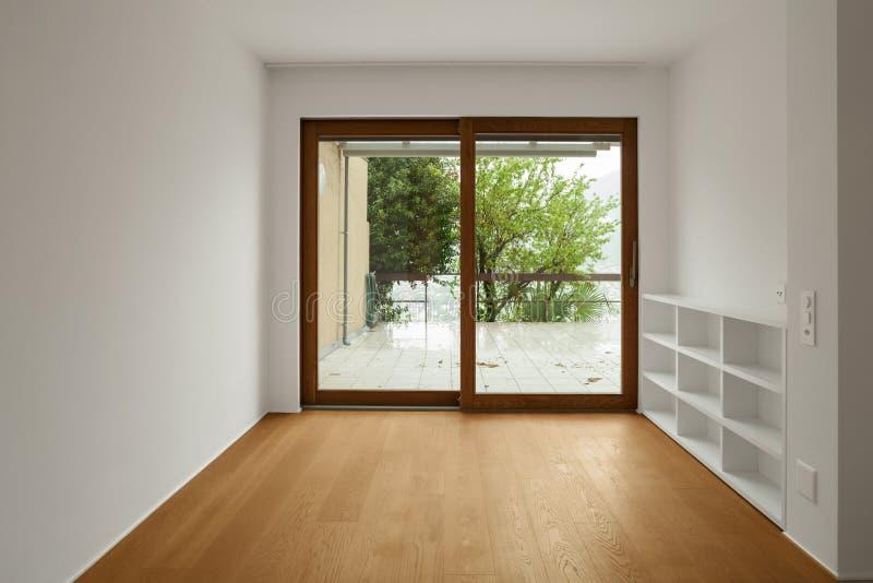 现代公寓,室内部  库存照片