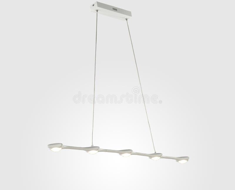 现代典雅的吊灯 向量例证