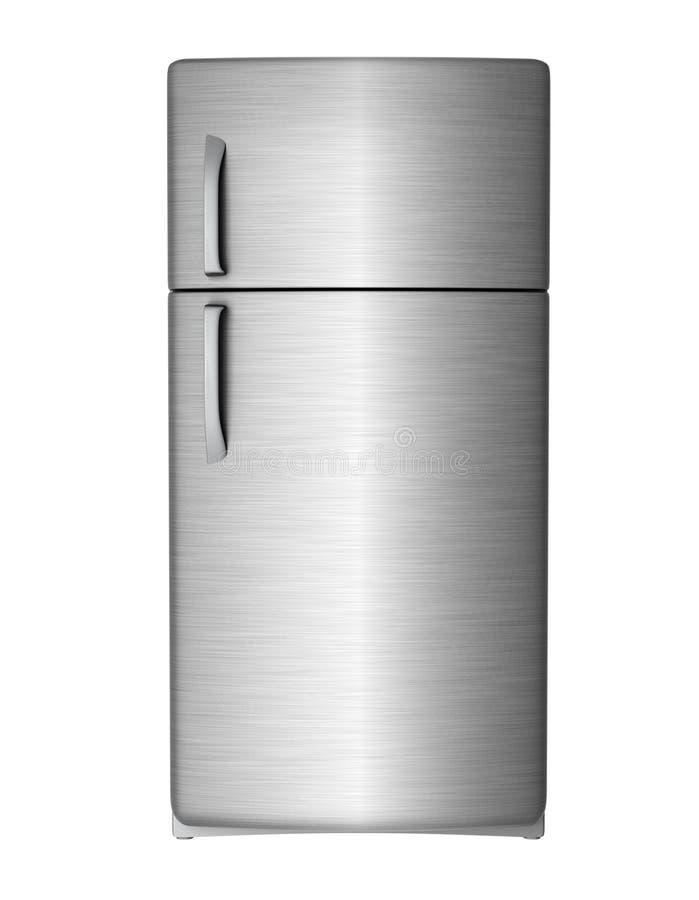 现代冰箱 向量例证