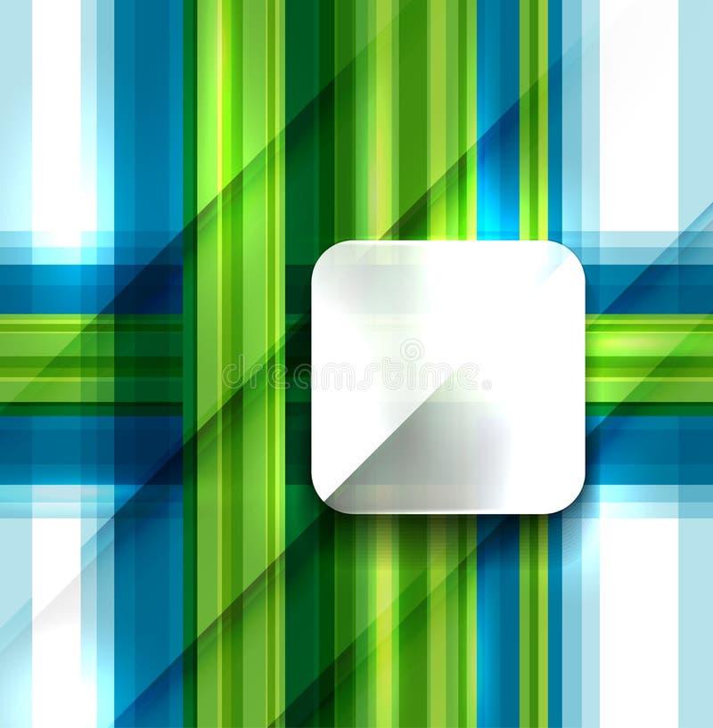 现代几何抽象背景 向量例证