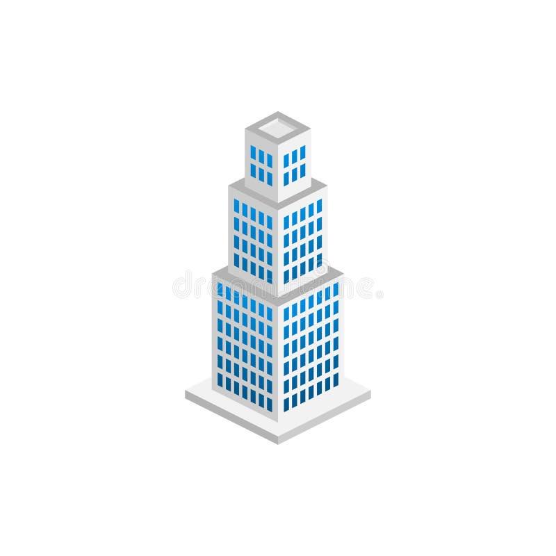 现代办公室等量,适用于图、Infographics、例证和其他图表 库存例证