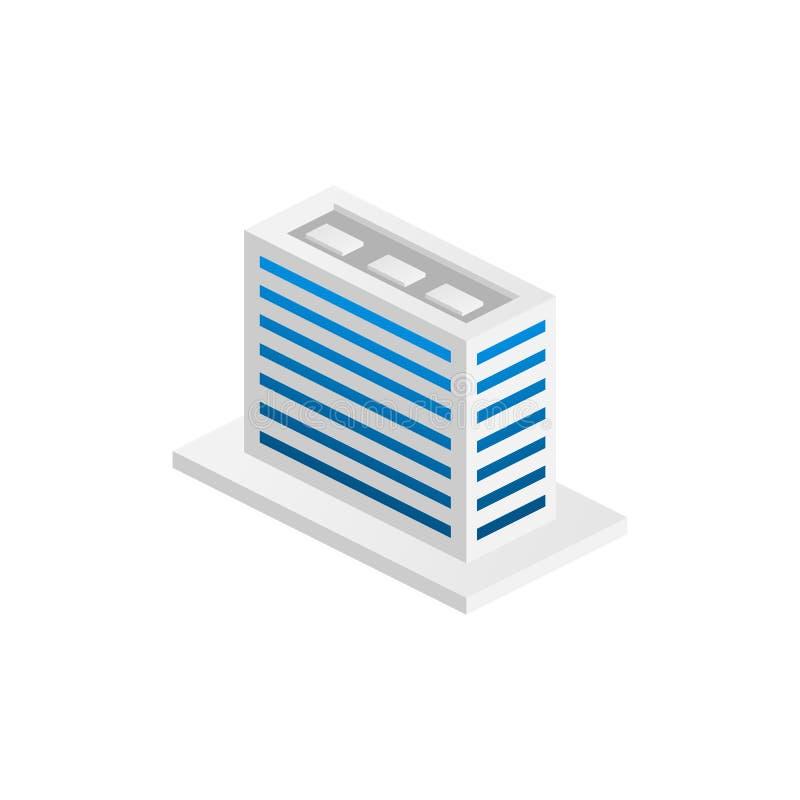 现代办公室等量,适用于图、Infographics、例证和其他图表 向量例证