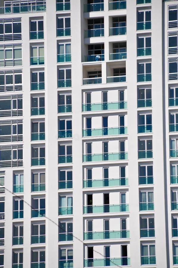 现代和高层建筑物在伊斯坦布尔 免版税库存图片