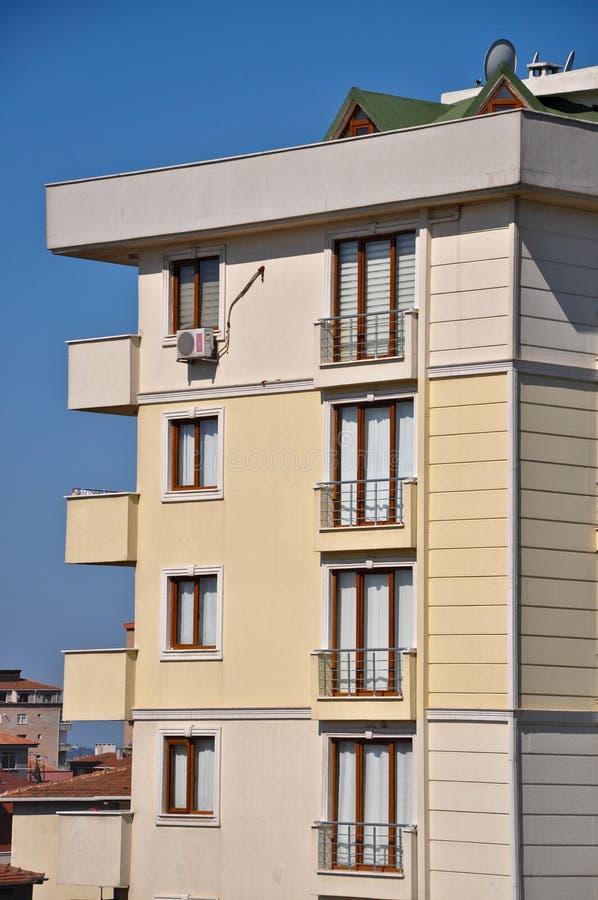 现代和高层建筑物在伊斯坦布尔 库存图片