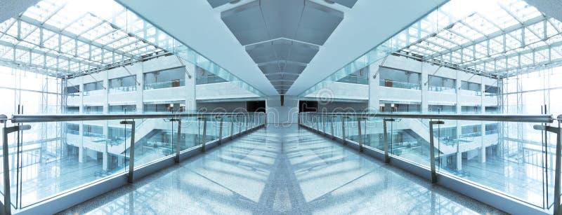 现代大厦内部 免版税图库摄影