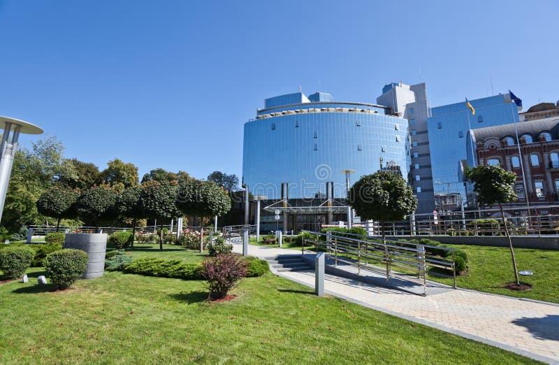 现代大厦在基辅, 库存图片