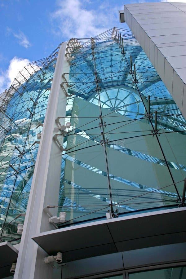 现代大厦的圆顶 库存图片