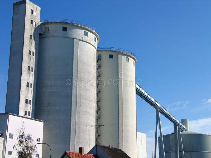 现代工厂 免版税库存照片