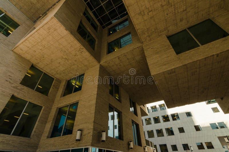 现代建筑学大厦,奥斯陆,挪威 免版税库存照片