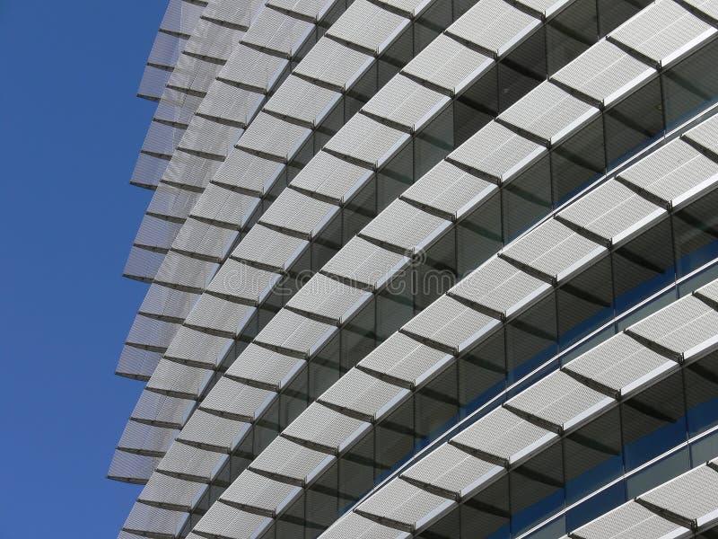 现代建筑的详细资料 免版税库存照片