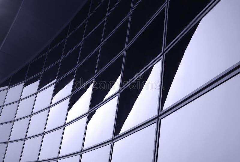 现代总公司的门面 免版税库存图片