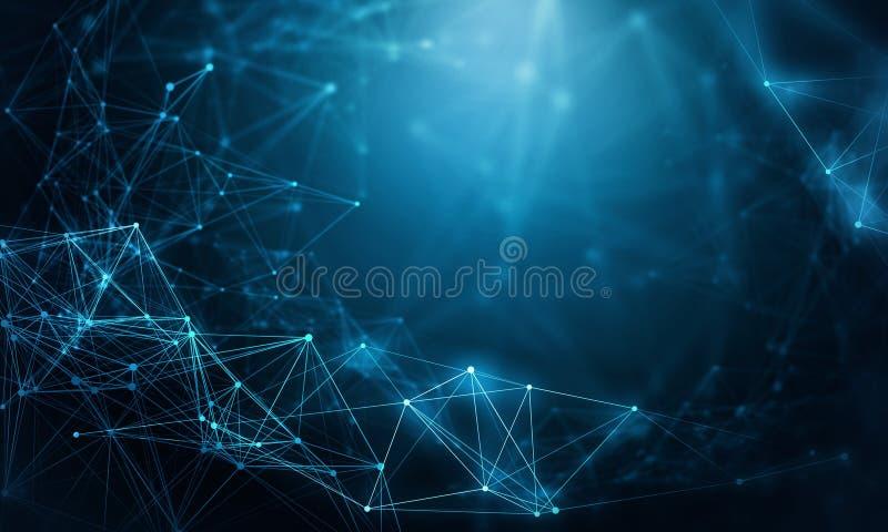 现代技术概念 向量例证