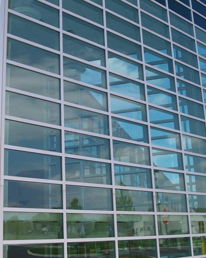 现代抽象大厦的玻璃 库存图片