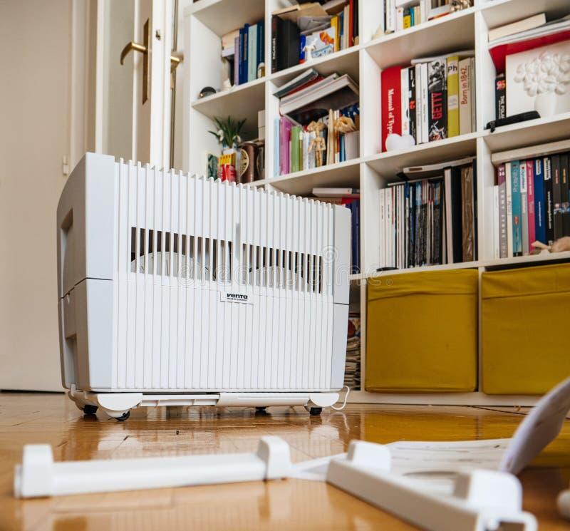 现代文塔空气润湿器 库存图片