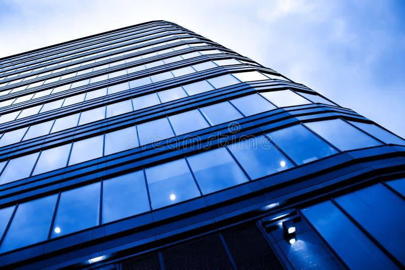 现代新的摩天大楼 库存图片