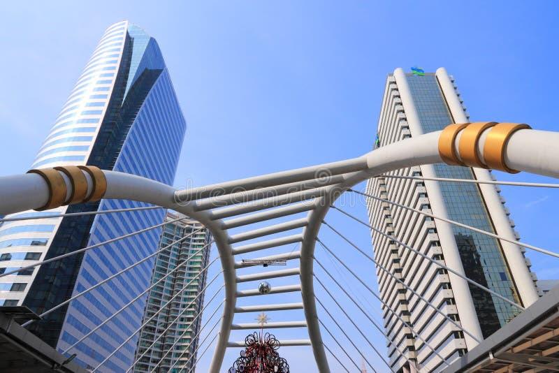现代曼谷 库存照片