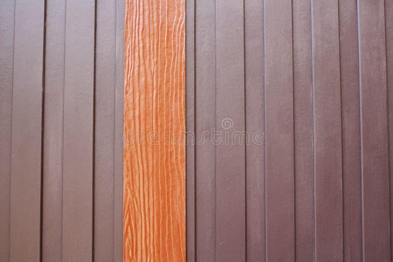 现代木墙壁 库存图片