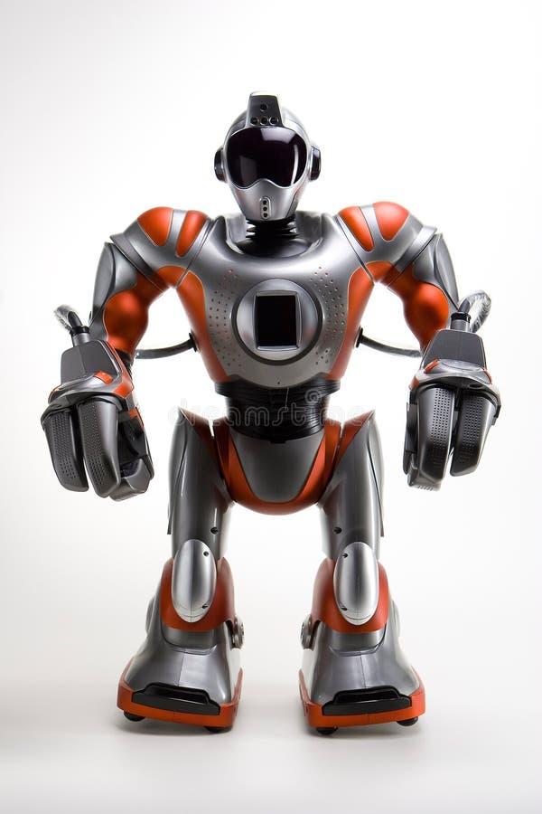 现代机器人 皇族释放例证