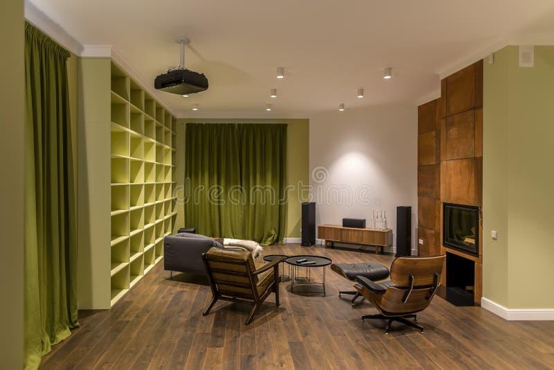 现代样式的室 图库摄影