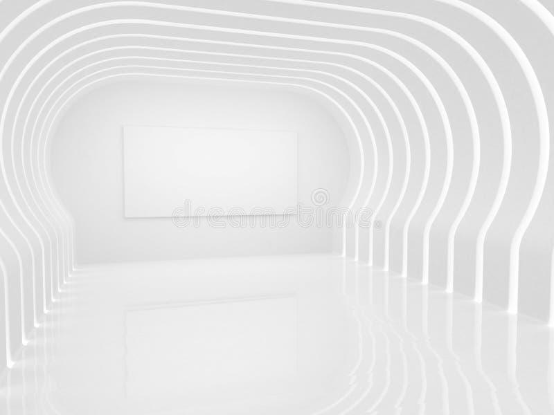 现代框架的大厅 向量例证