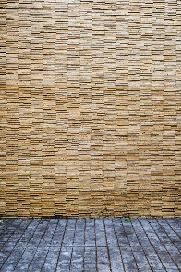 现代模式石墙 库存照片