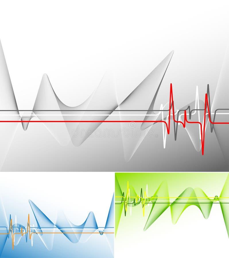 现代模板向量 向量例证