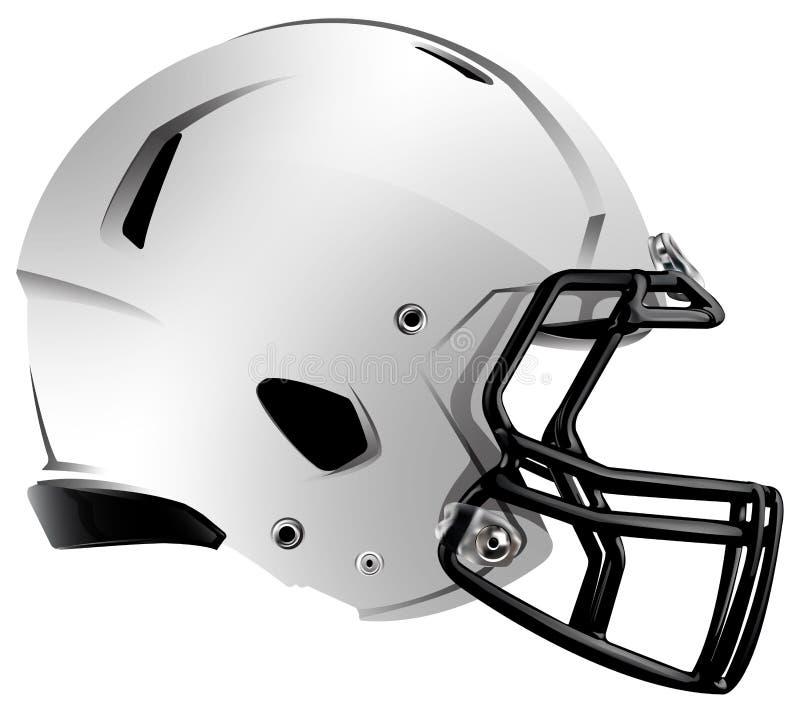 现代橄榄球盔的例证 向量例证