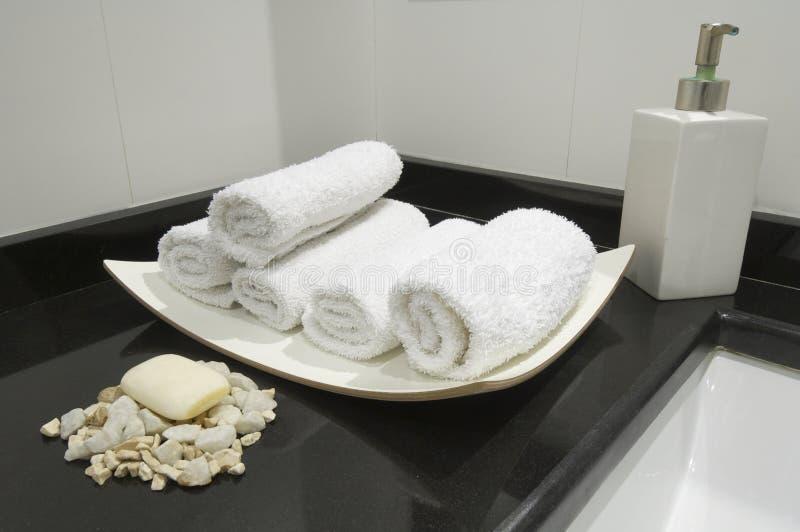 现代洗手间 免版税库存照片