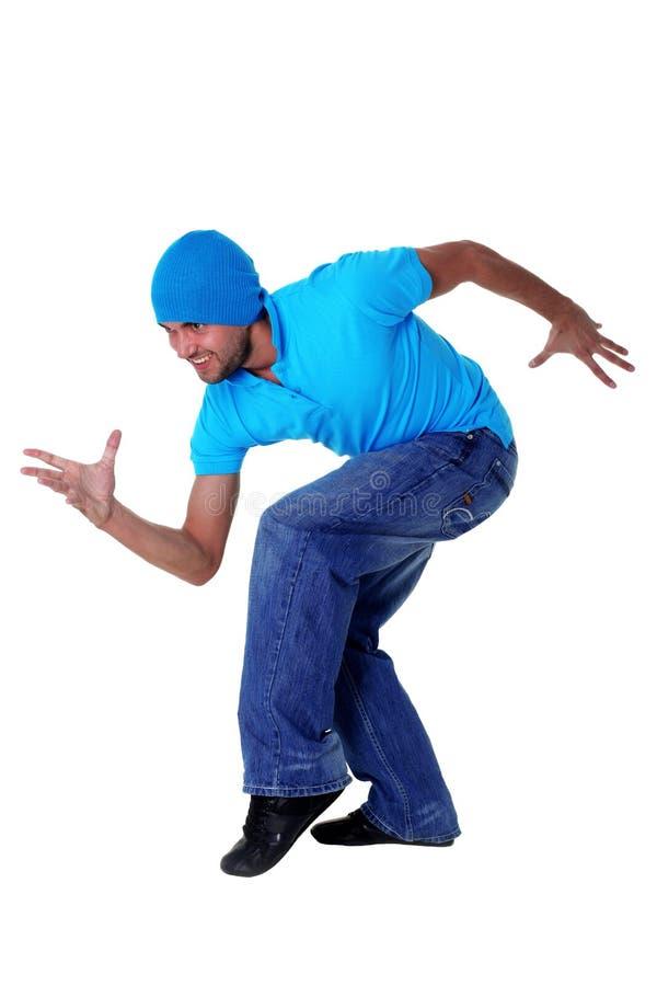 现代活动冷静的舞蹈演员 免版税库存照片