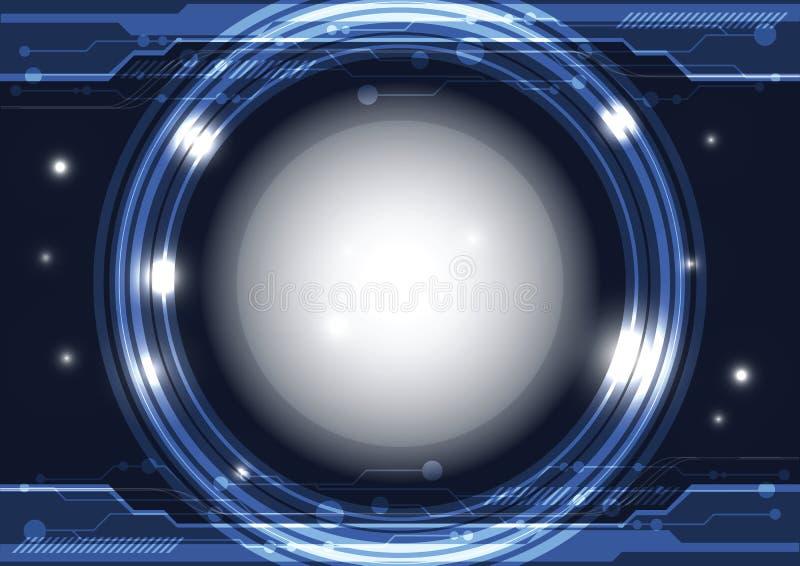 现代界面技术 库存例证
