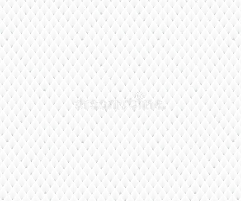 现代白色背景-无缝/能为图表或网站布局使用 向量例证