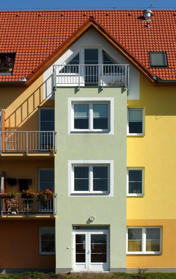 现代的公寓 库存照片